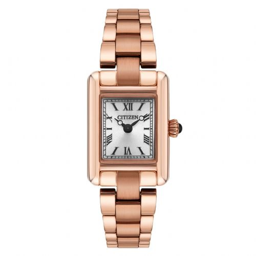 EG2792-50B Citizen Ladies Rose Gold Watch Stainless Steel Eco-drive